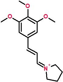 1-[(2E)-3-(3,4,5-trimethoxyphenyl)prop-2-en-1-ylidene]pyrrolidin-1-ium.png